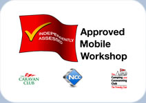 Approved Mobile Workshop Logo